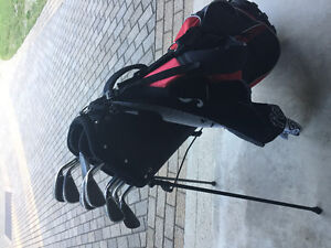 Regency golf clubs and bag