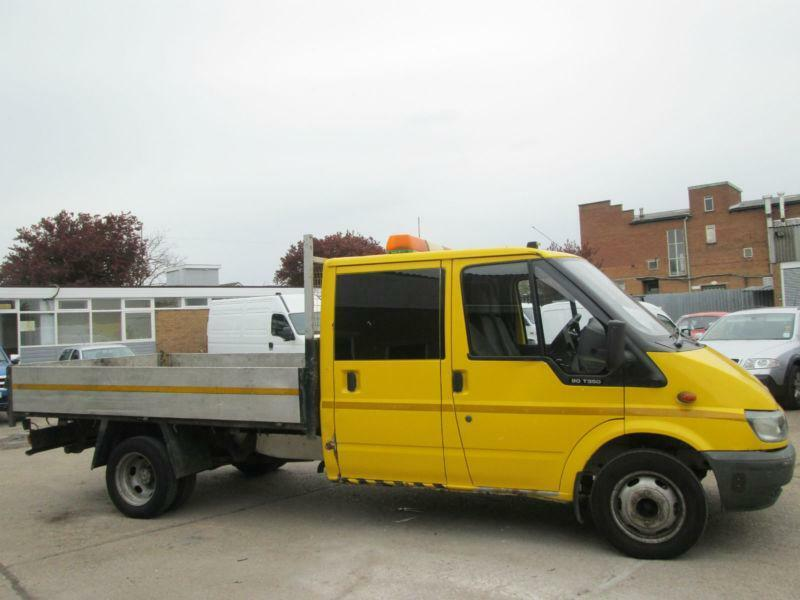 c4f79c6c17 2004 04-REG Ford Transit T350 2.4TDCI LWB DROPSIDE DOUBLE CAB PICK UP  FLATBED.PX