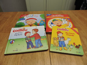 BRAND NEW Caillou Set