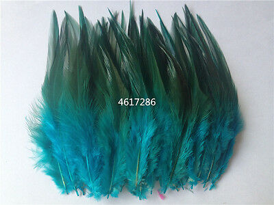 Beautiful 30pcs (Sky Blue) rooster tail little feathers 2-4inches / 4-10cm