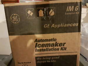 Icemaker still in box
