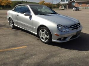 2007 Mercedes CLK550 Convertible AMG Package
