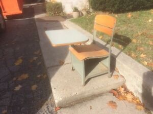 Vintage child school desk 'IRWIN'