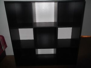 Black Cube Shelf