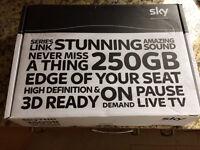 Sky HD Box New Never used 250gb