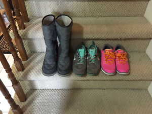 Gently used/like new shoes and boots
