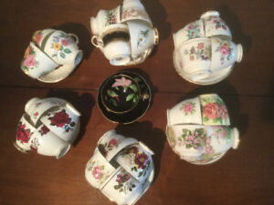 Fine China cups and saucers - $5.00 per set