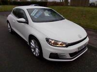Volkswagen Scirocco 2.0 GT TDI BLUEMOTION TECHNOLOGY (white) 2014