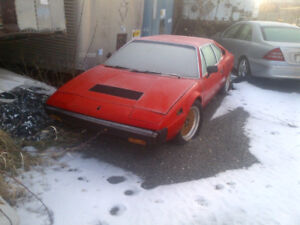 FERRARI 308 GT4  WINTER SPECIAL PROJECT  GREAT DEAL ON RARE CAR