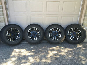 Snow tires/rims for Chevy/GM truck