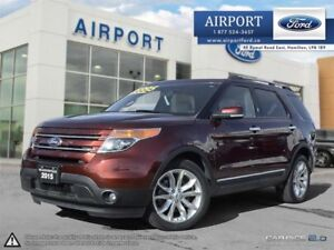 2015 Ford Explorer Limited 4WD 3.5L with only 28,286 kms