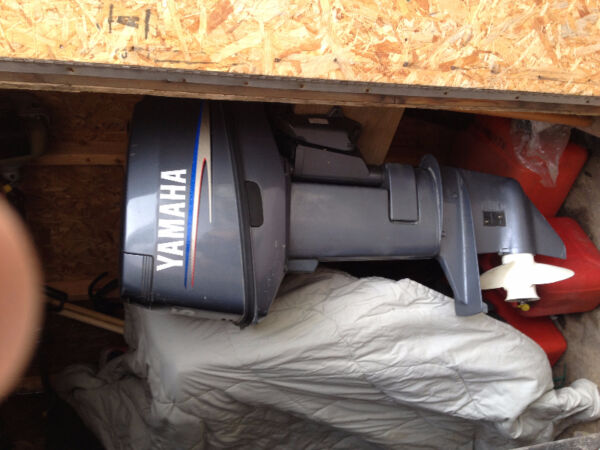 Used 2003 Yamaha 25 hp short shaft