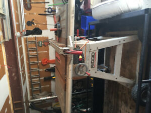 "Rigid 10"" table saw."