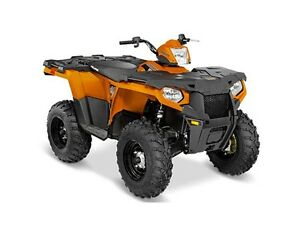 2016 Polaris Sportsman 570 Orange Burst