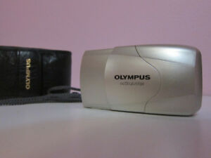 Olympus Stylus Epic (mju-ii) 35mm Film Camera w/35mm f2.8 Lens