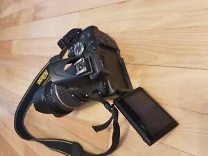Caméra nikon d5100 avec sac de. Transport