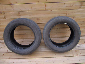 Set of 2 Continental ContiProContact 235/55/17 summer tires