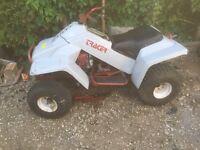Tracer quad bike lawnmower 16 hp Engine