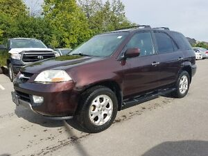 2001 Acura MDX SUV AWD ** 7 Passenger, SUNROOF, DVD, Leather **