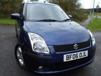 2006 06 SUZUKI SWIFT 1.5 GLX VVTS 5D AUTO 101 BHP ** AUTOMATIC, AND ONLY 48K **