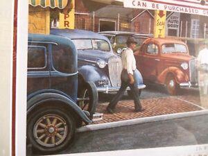 Limited Edition Print Automotive Art 'THE WHEELER DEALER' Kitchener / Waterloo Kitchener Area image 5
