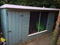 Dog kennel (insulated) with run £250