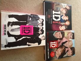 Selection of One Direction Books