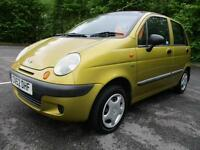 02/52 DAEWOO MATIZ 0.8 SE 5DR IN MET GOLD (PX TO CLEAR)