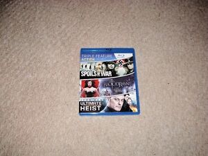 3 IN 1 ACTION BLURAY FOR SALE!