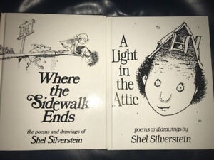 Shel Silverstein - A Light In The Attic & Where the Sidewalk End