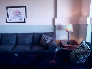 EXECUTIVE FURNISHED 14TH FLR DWNTOWN RIVER VALLEY 1+1 BDR APRT