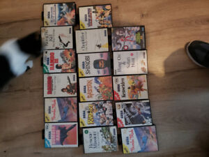 Sega master 17 jeux