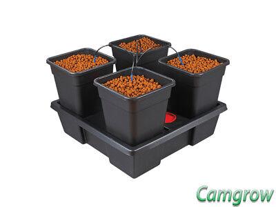Pot Dripper-system (Wilma V2 - Small - 4 x 11 Litre Pot Dripper System Hydroponics)