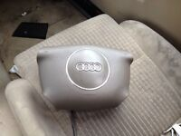 Audi a2 driver steering airbag breaking spares