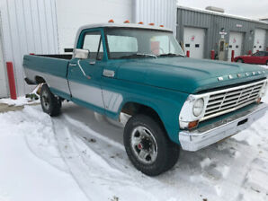 classic old pick up truck