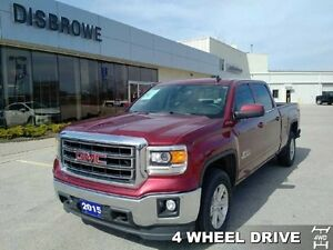 "2015 GMC Sierra 1500 SLE   Trade-In, 6'6"" Box, Remote Start"