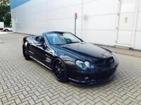 2003 Mercedes-Benz SL55 AMG 5.5 + LHD / LEFT HAND DRIVE - BLACK + BODYKIT
