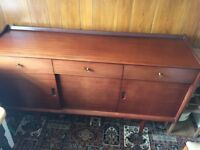 Solid wooden sideboard ideal for shabby chic project FREE