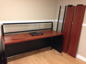 executive reception L shape desk