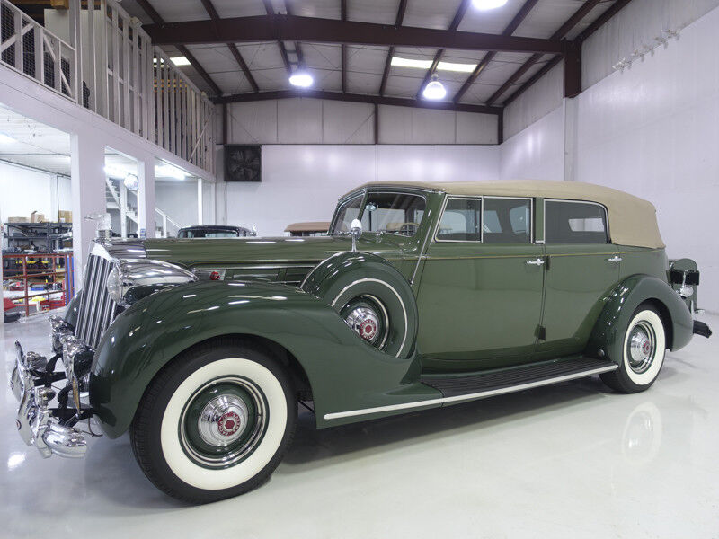 1939 Packard Model 1708 Twelve Convertible Sedan | 34,701 actual miles! 1939 Packard Model 1708 Twelve Convertible Sedan | Less than 12 known to exist