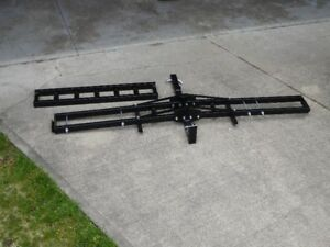 MOTORCYCLE CARRIER - HITCH MOUNT