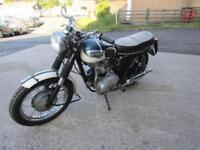 1967 TRIUMPH T100T ORIGINAL NUMBER.