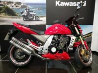 KAWASAKI Z1000 ZR1000 A2H in Red, Belly Pan,Tinted Screen,Rad Grill,Twin ...
