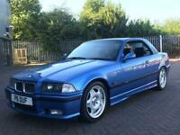 BMW M3 3.2i Evolution Convertible 1996 Hardtop Estoril Blue Low Mileage E36