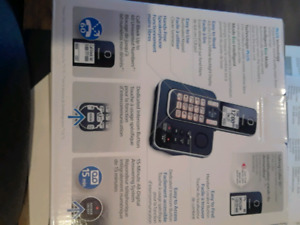 Panasonic 4 portable home phone set