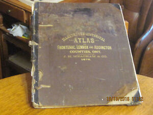 Historical Atlas of Frontenac,Lennox and Addington Counties