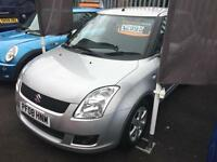 Suzuki Swift 1.3DDiS Diesel 12 Months MOT Low Insurance - Silver - Keyless