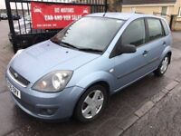 2006 (56) FORD FIESTA 1.4 TDCI, WARRANTY, NOT CORSA CLIO 207 FABIA POLO
