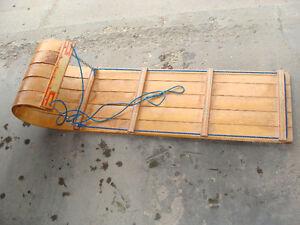 Toboggan (Wood)