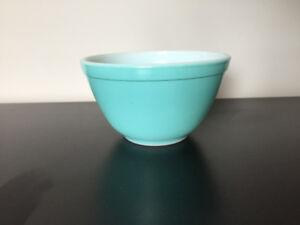 Bol en Pyrex ** Turquoise Vintage 401 ** Pyrex Bowl